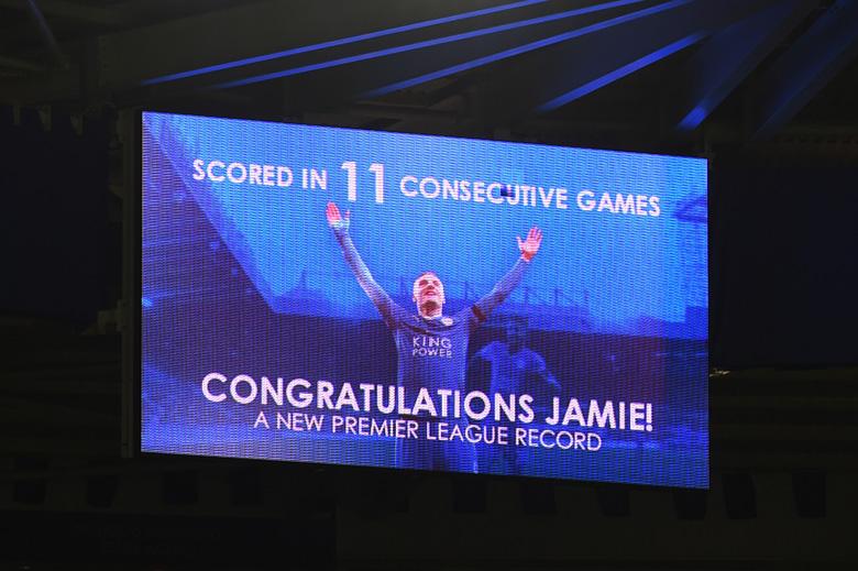 Jamie Vardy Record breaking goals