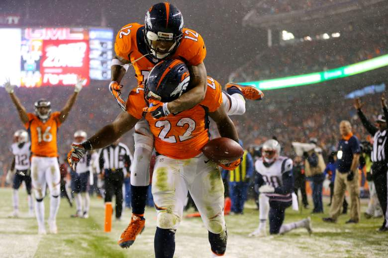 The Broncos pulled off the upset against the Patriots. -Getty