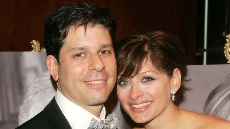 Bartiromo pictured with her husband, Lawrence Steinberg, in 2005.