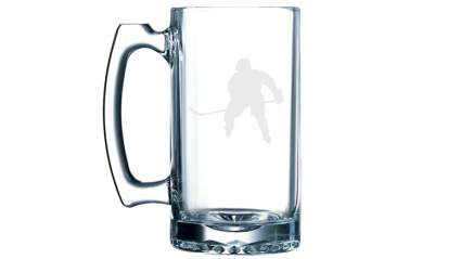 mug, glass mug, stein, glass stein, hockey stein, hockey, NHL, Christmas, Christmas 2015, Christmas gifts, gifts, gift ideas, gifts for men, gifts for women, gifts for hockey fans, sports, gifts for sports fans