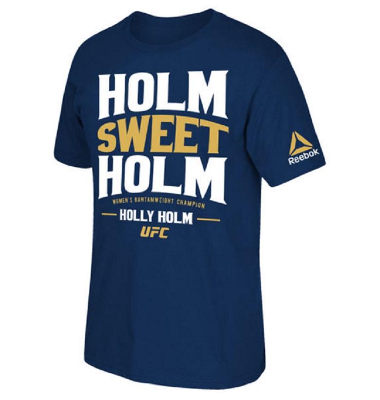 holly holm ufc gear apparel shirts