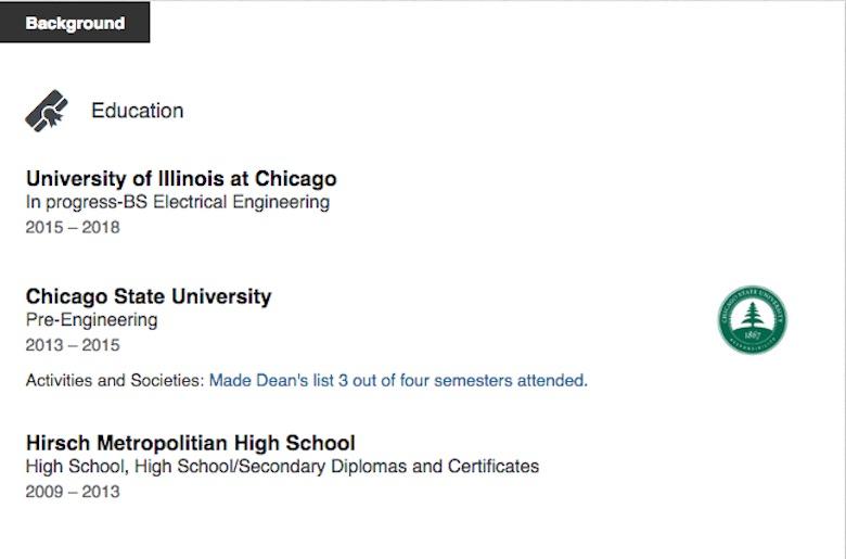 jabari green linkedin, university of chicago shooting threat