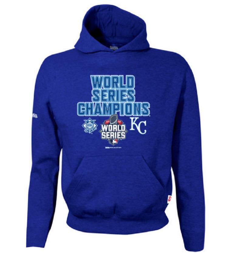 royals men's hoodie world series