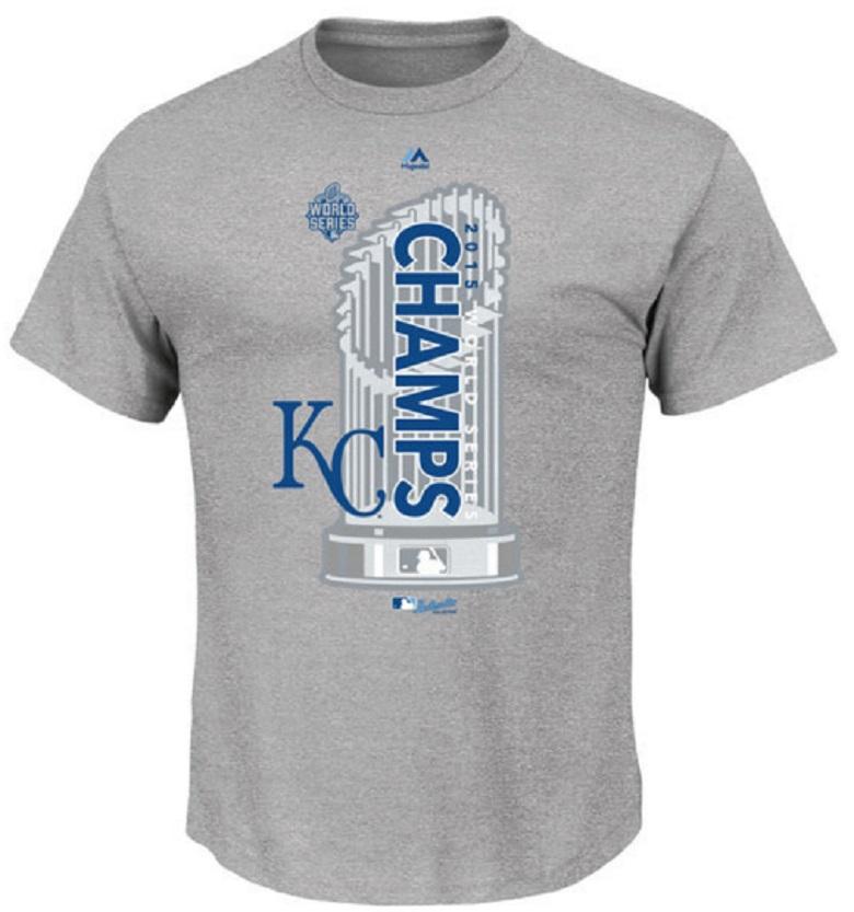 royals men's world series shirts