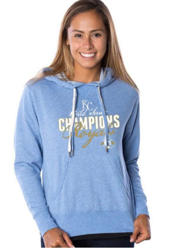 royals world series champions women's hoodie