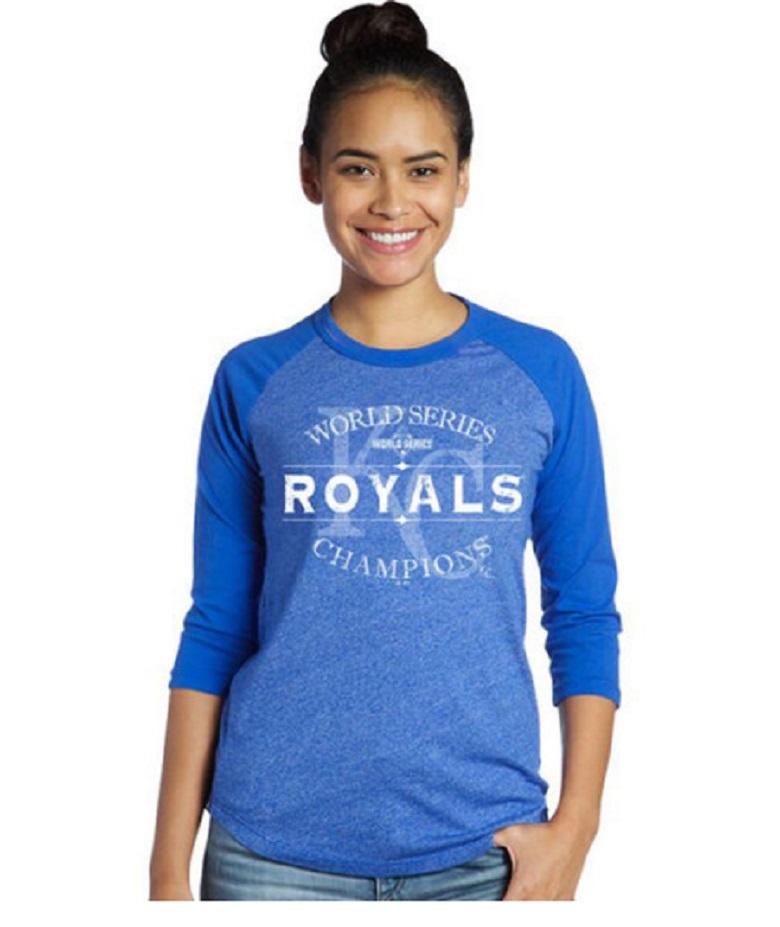 women's royals world series shirts