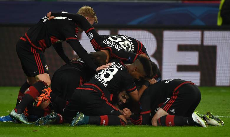 Bayer Leverkusen used heroics to pull off a victory over AS Roma at home in their last Champions League match and looks to earn all three points in Rome. (Getty)