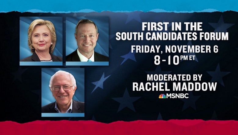 MSNBC Democratic Forum, Democratic Debate, MSNBC Democratic Forum Live Stream, How To Watch MSNBC Democratic Forum, Democratic Debate 2015, How To Watch MSNBC Democratic Forum Online