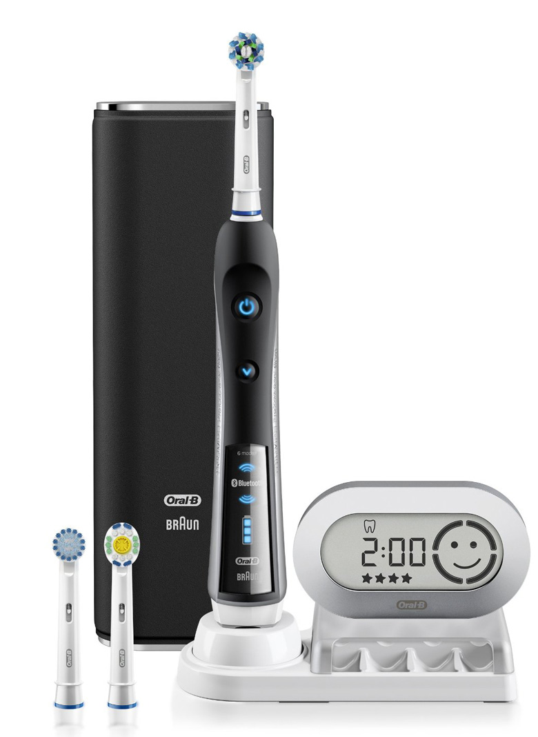 Oral-B Black 7000 SmartSeries Electric Rechargeable Toothbrush with Bluetooth