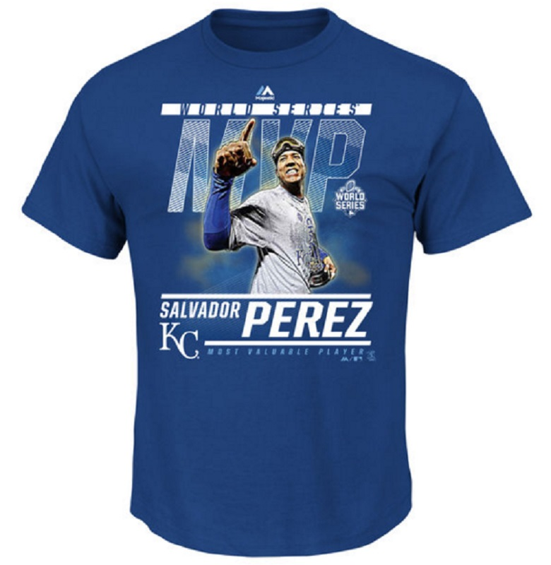 salvador perez world series mvp men's t-shirt