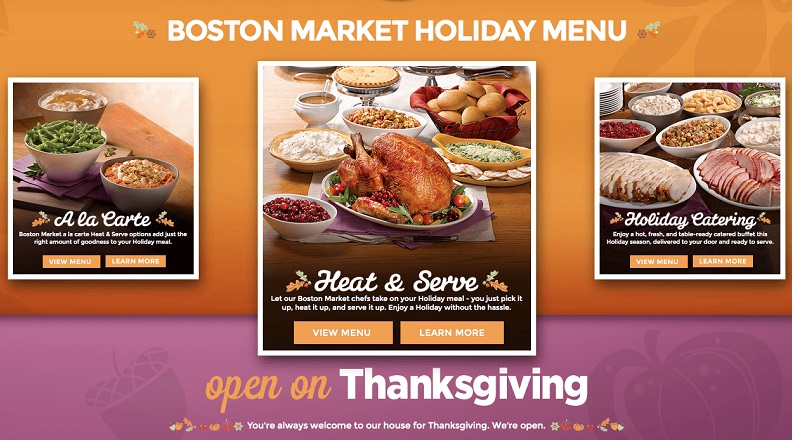 What Restaurants Are Open on Thanksgiving 2015 Near Me ...