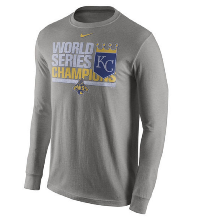 men's royals world series champions long sleeve shirts