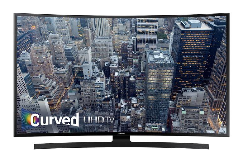 Samsung UN65JU6700 Curved 65-Inch 4K Ultra HD Smart LED TV (2015 Model), samsung, tv