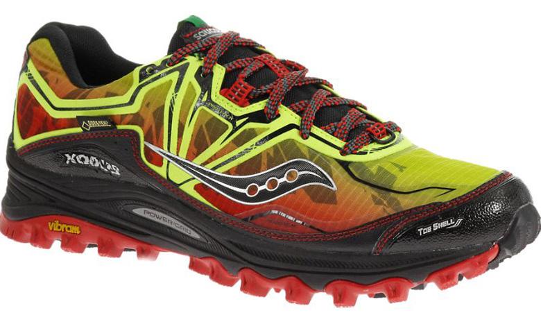 Saucony Men's Xodus 6.0 GTX Trail Running Shoe, trail running shoes
