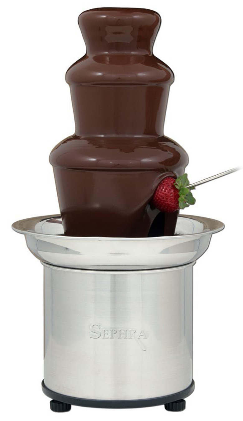 Sephra Select Home Fondue Fountain, chocolate fountain, fondue