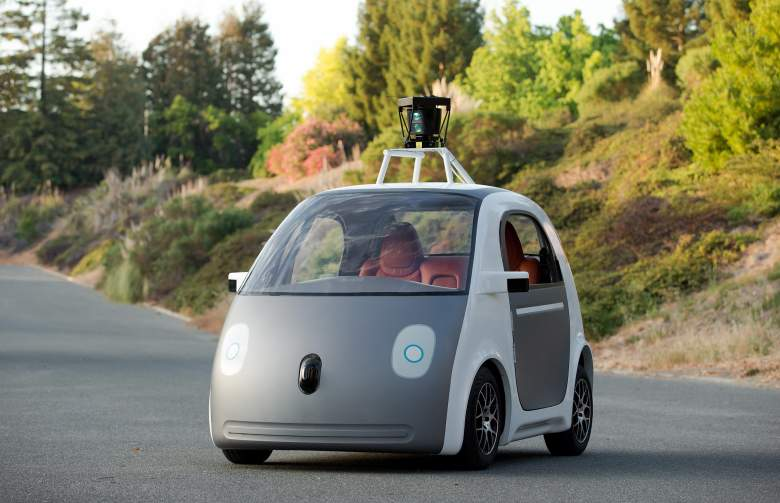 google self-driving car driverless car