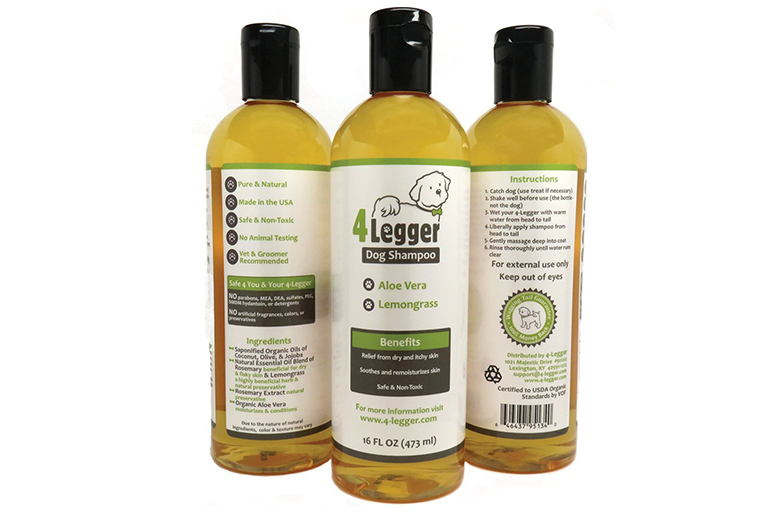 4-Legger Certified Organic All Natural Dog Shampoo