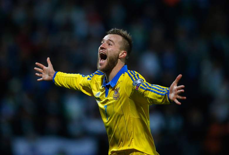 Andriy Yarmolenko is the offensive force behind Ukraines offensive attack heading into the 2016 UEFA European Championship. Getty