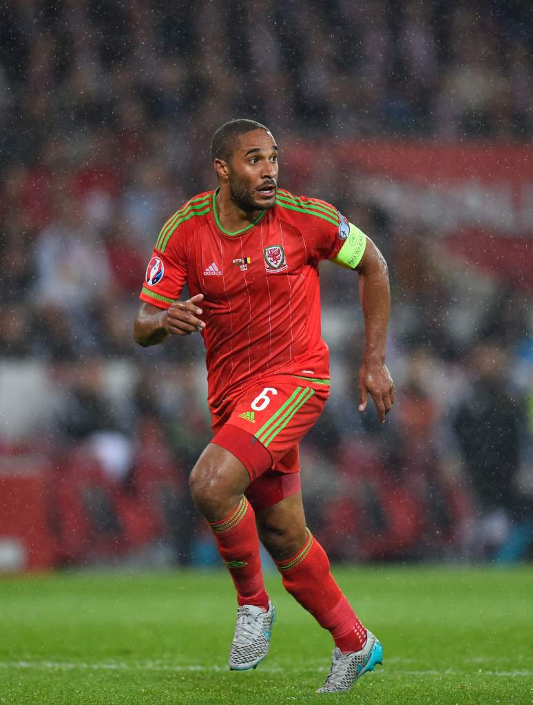 Ashley Williams will captain Wales in the 2016 European Championship in France. Getty