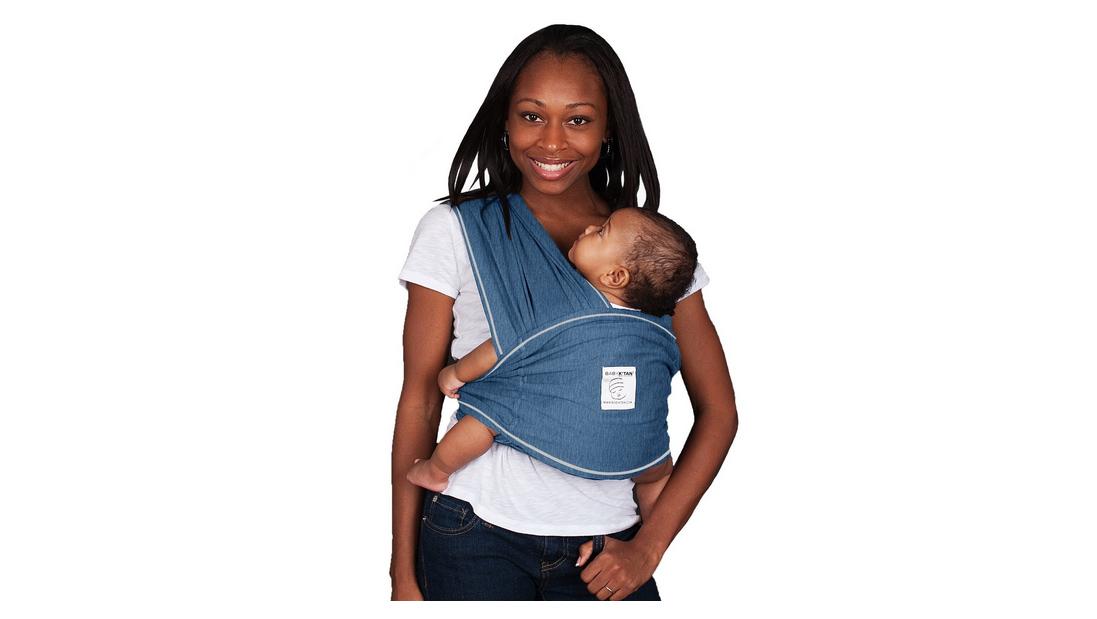 denim baby k'tan baby carrier