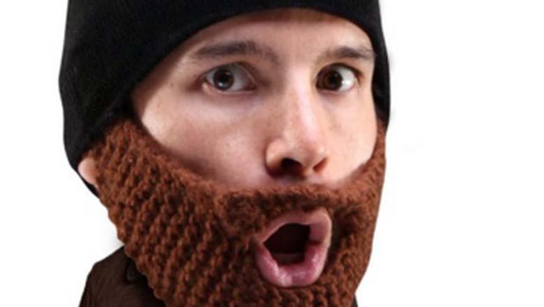 beard hat, hat with beard