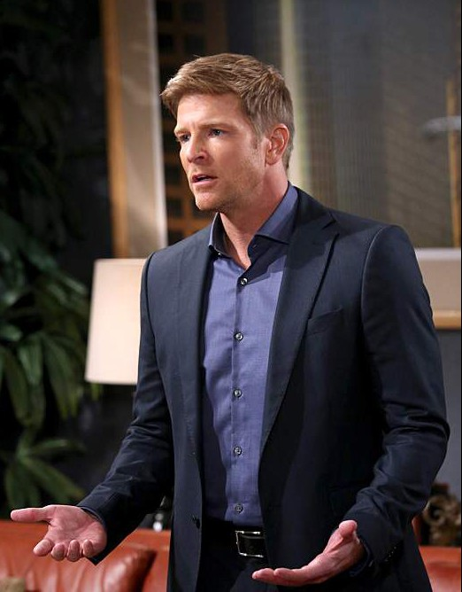 the young and the restless cast, the young and the restless actors, billy abbott photos, burgess jenkins photos