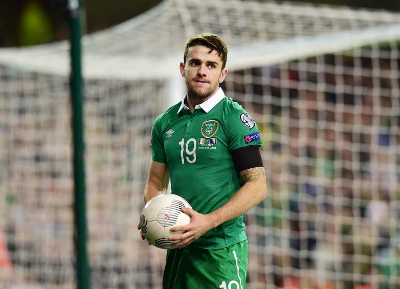 Robbie Brady leads the Republic of Ireland into the 2016 European Championships in France. Getty