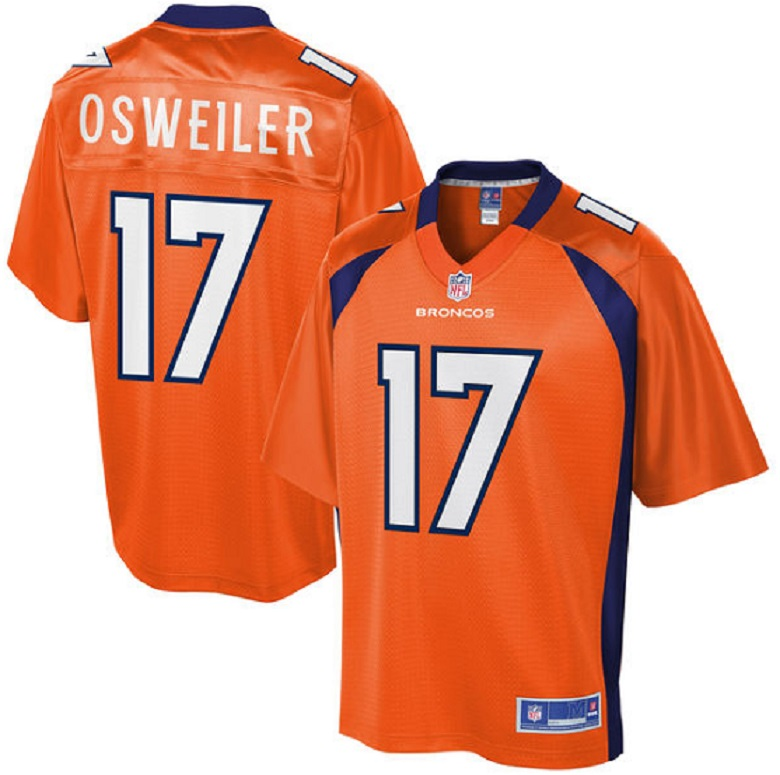 Brock Osweiler Jerseys: Buy Broncos Gear at the NFL Shop | Heavy.com