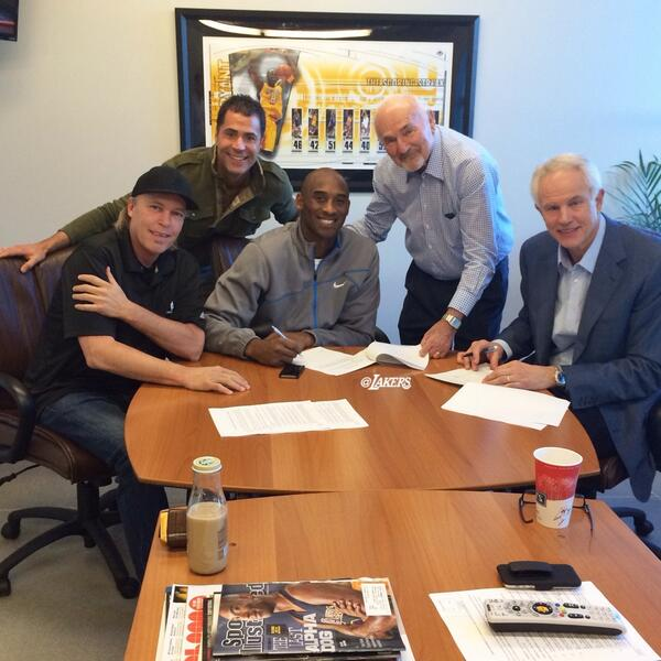 Kobe Bryant net worth, Kobe Bryant contract
