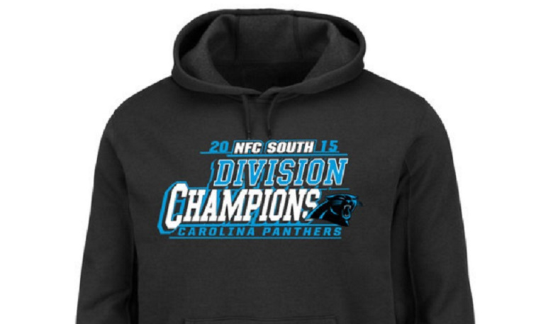 carolina panthers 2015 nfc south champions gear