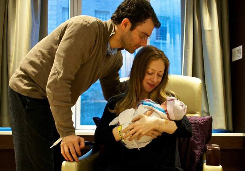 chelsea clinton, charlotte clinton, hillary and bill's daughter, clinton family