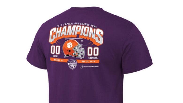 clemson tigers national championship game gear college football playoffs shirts
