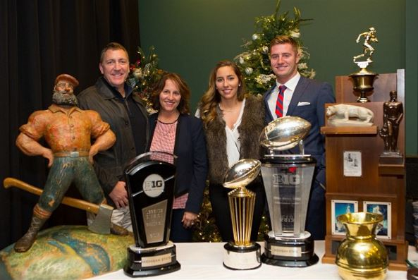 Connor Cook family, Connor Cook parents, Connor Cook sister