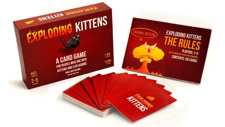 Save 50% on Exploding Kittens