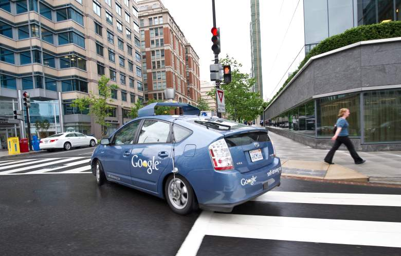 google self-driving car driverless car toyota prius