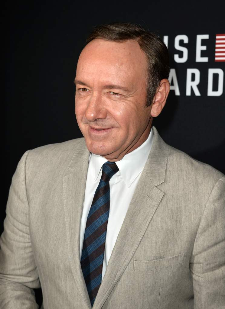 Kevin Spacey, House of Cards, Frank Underwood