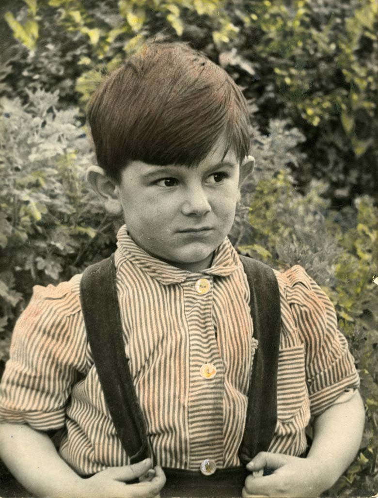 Ronnie Wood Child Photo Picture