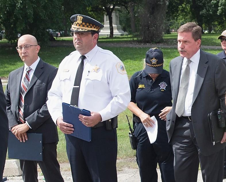 John Escalante, John Escalante Chicago police superintendent