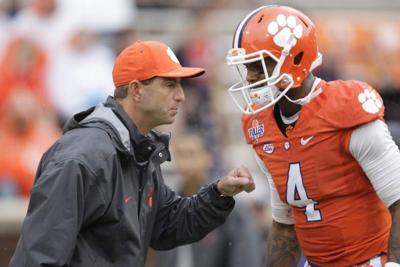Dabo Swinney and DeShaun Watson, Clemson and Oklahoma, Cotton Bowl, when, where, television channel, time, espn