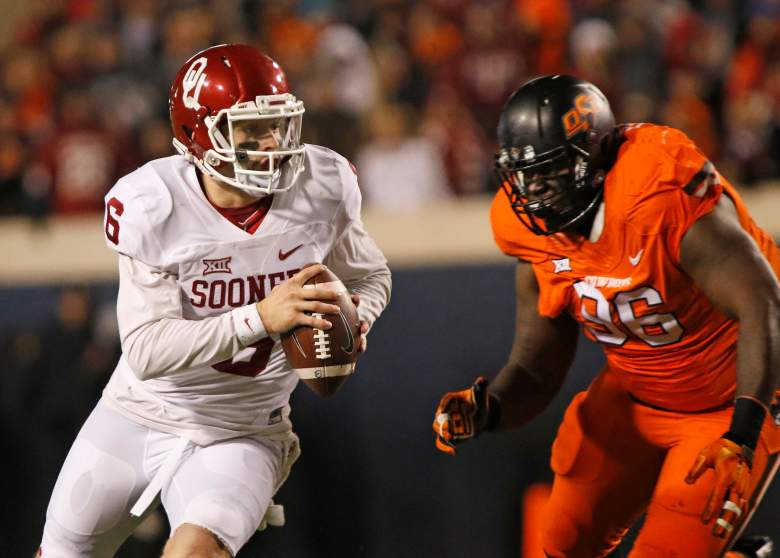 Baker Mayfield and Oklahoma State, orange bowl, time, channel