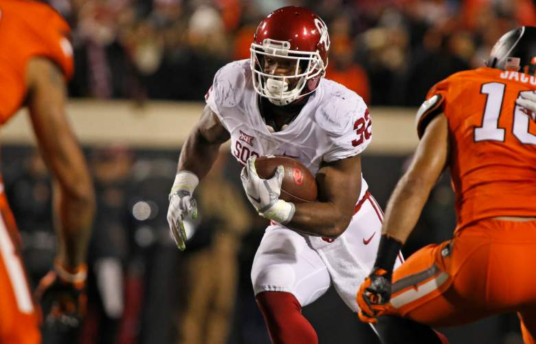 Samaje Perine, Oklahoma Sooners running back, DraftKings, College Football, lineup, bowls, new years eve, new years, picks, players, sleepers, bargains