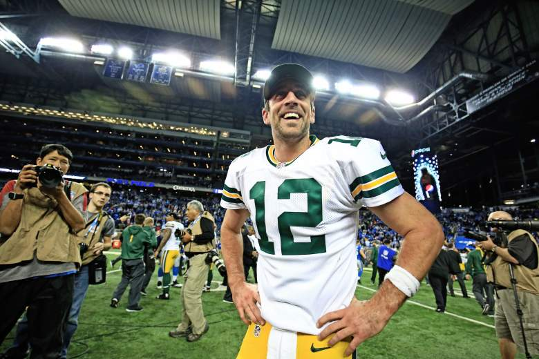 Aaron Rodgers, hail mary, lions and packers