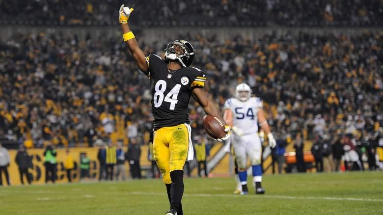 Antonio Brown, Pittsburgh Steelers, NFL