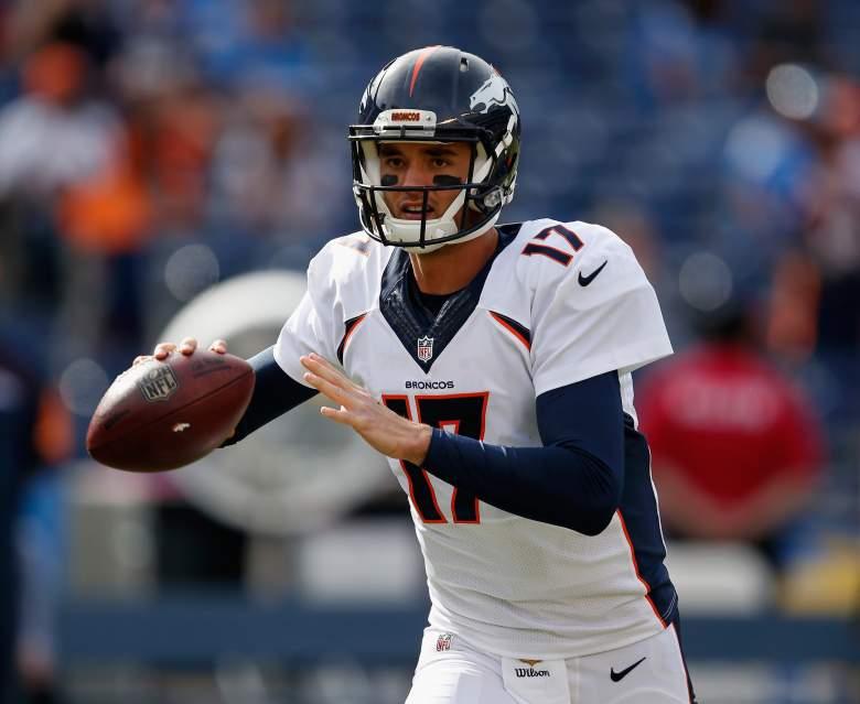 Brock Osweiler, Broncos vs. Raiders, live stream, watch online