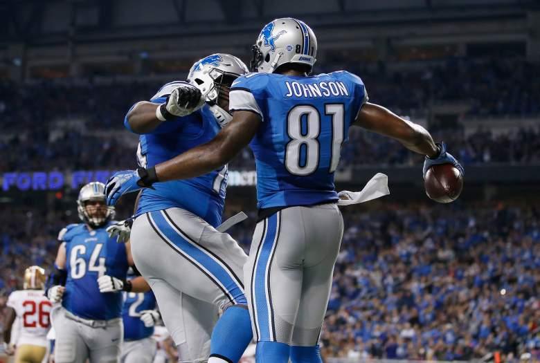 Calvin Johnson, Detroit Lions, NFL
