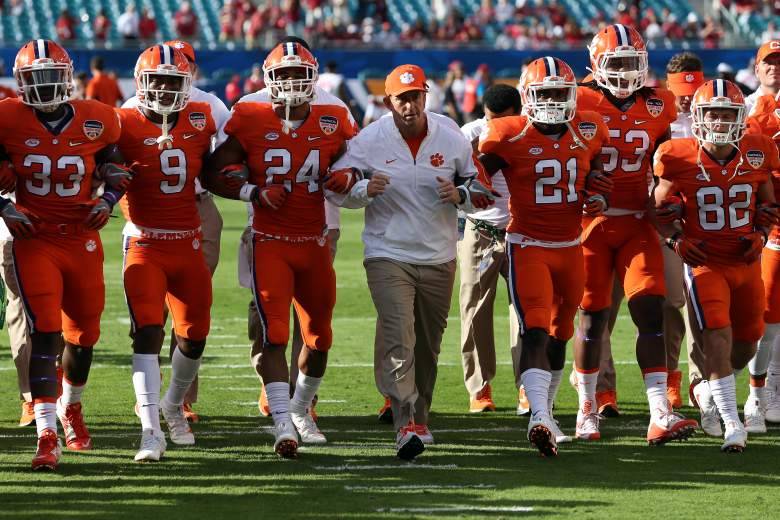 Clemson, national championship, alabama, michigan state, date, time, channel, when, where