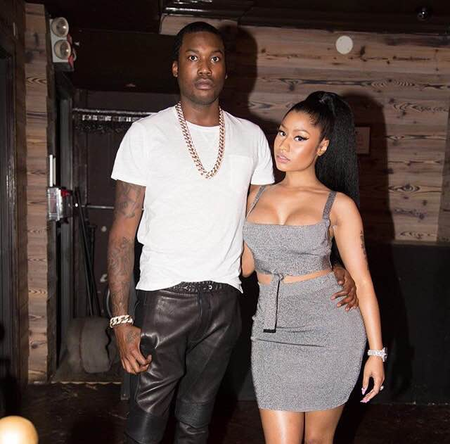 Nicki Minaj and Meek Mill (Instagram)