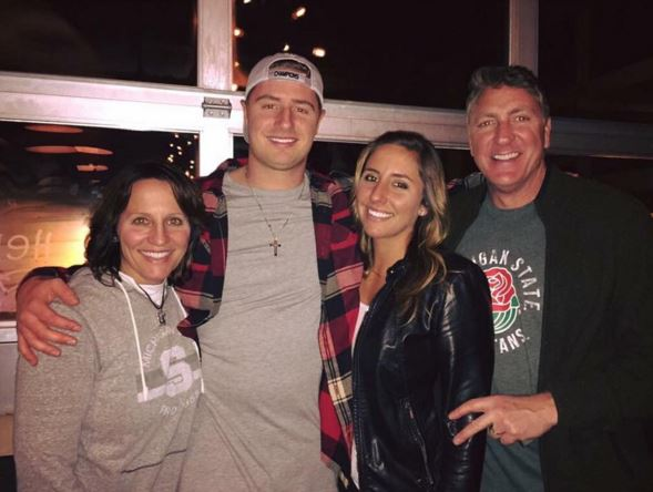 Jackie Cook, Connor Cook sister