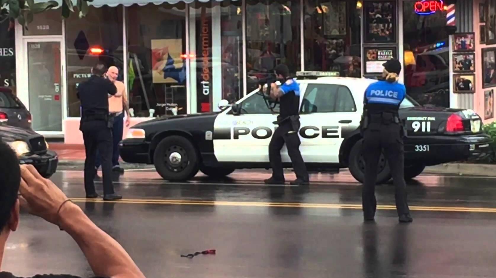 miami beach police shooting, miami police shooting, miami beach police shooting video, miami beach police shooting watch