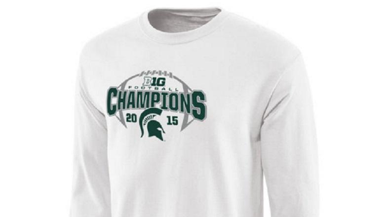 michigan state college football playoffs apparel